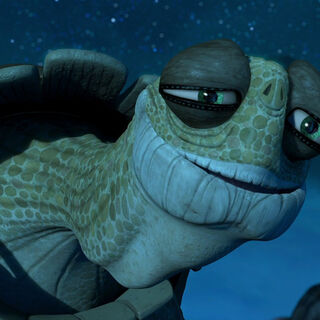 Oogway speaking his last words to <a href=