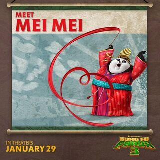 Mei Mei featured in a social media promo