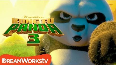 Po Teaches Kung Fu (Bao) - Kung Fu Panda 3 (2016)