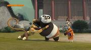 Monkey-po-fight