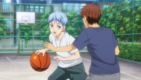 Kuroko with Ogiwara in their childhood.png
