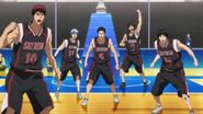 Seirin moves to defense