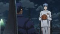 Aomine basketball passion to Kuroko