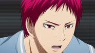 Akashi out of Zone