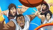 Kiyoshi goes for rebound