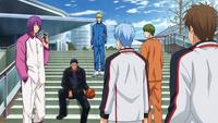 Kuroko reunites with his former teammates.png