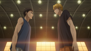 Kise and Kasamatsu 1st meeting