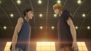 Kise and Kasamatsu 1st meeting