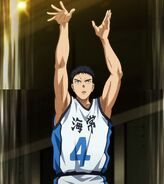 Kasamatsu's three pointer