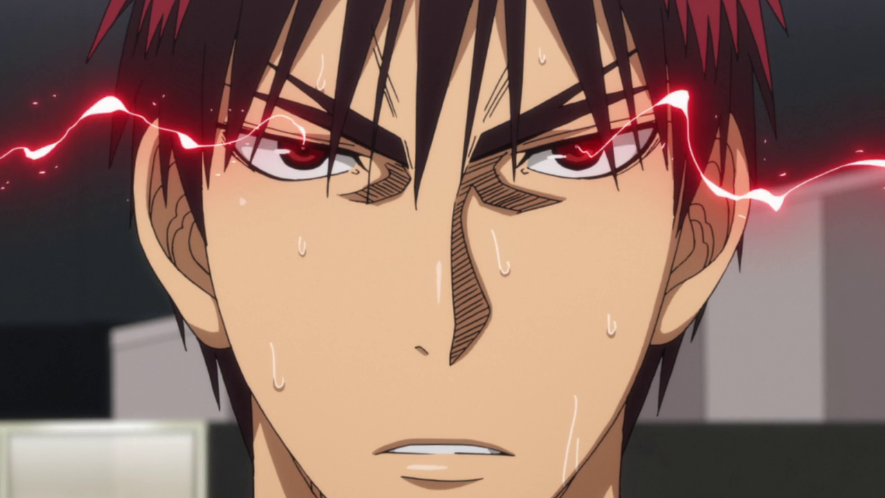 Kagami is ready to face Akashi again