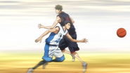 Kasamatsu stole the ball
