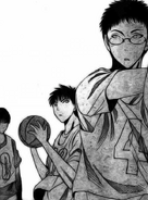 Hyuga with second years against freshmen