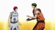 Akashi faces Midorima's new skill anime