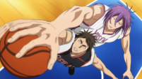 Murasakibara's Vice Claw anime