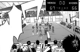 Meiko vs Kyosen