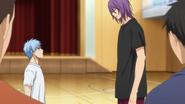 Murasakibara and Kuroko argue