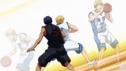 Kise's copying Kasamatsu's turnaround