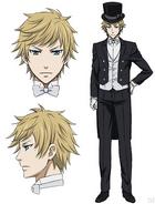 Edward Midford anime appearance