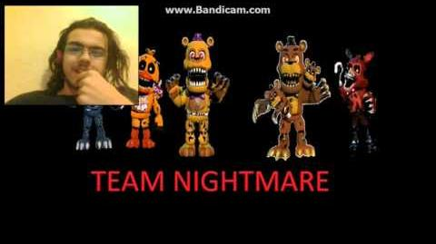 DEMON REACT fnaf world voices part 4 (Dark Box)