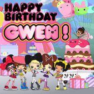 HJ5 happy birthday gwen