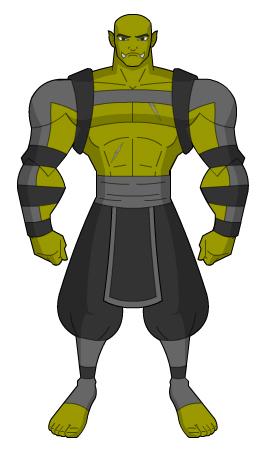 Half-Orc Monk