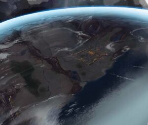 Rokugan seen from the Space