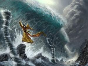Strength of the Tsunami