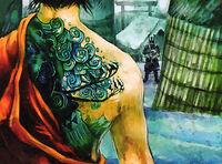 Avalanche tattoo