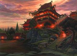 Palace of Crimson Shadows