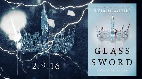 GLASS SWORD by Victoria Aveyard Official Book Teaser Trailer