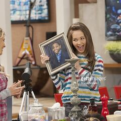 Bree with a picture of Leo