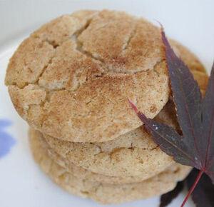 Maple snickerdoodles