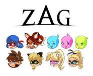 ZAG chibi icons