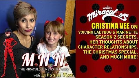 Lindalee & Cristina Vee talk Miraculous Ladybug - *Spoilers* (MNN) Ep