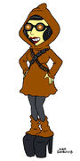 Lisa Goes Gaga Jawa Dress