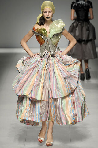 File:Vivienne Westwood Spring Summer 2009 striped two-tiered maxi wrap skirt with frayed hem.jpg
