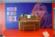 Germanotta Piano at the Women Who Rock exhibit in the Rock and Roll Hall of Fame 002
