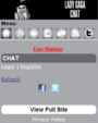 M.LadyGaga.com - Chat
