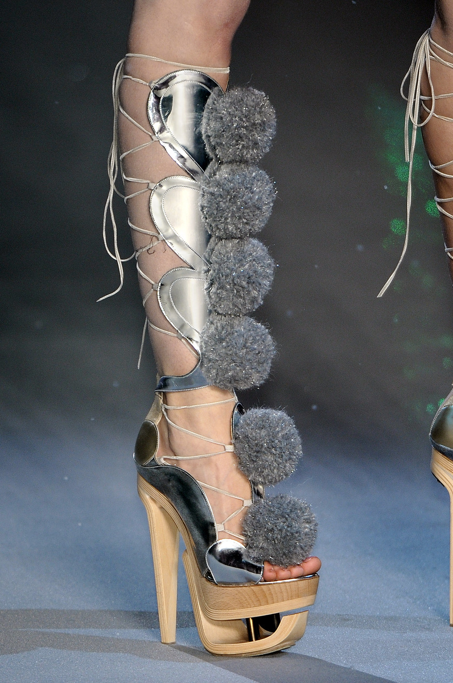 File:John Galliano Fall 2009 Lace-Up Pom Pom Sandals.jpg