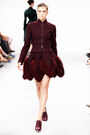 Azzedine Alaïa - Fall 2011 - Bordeaux ensemble