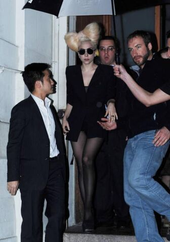 File:Gaga leaving Nobu restaurant in new york city.jpg