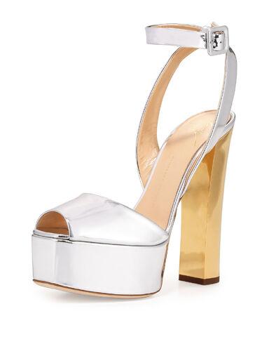 File:Giuseppe Zanotti - Argent metallic leather high heel sandal.jpeg