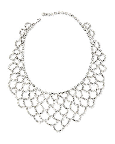 File:Kenneth Jay Lane - Gunmetalcrystal scalloped lace crystal bib necklace.jpeg