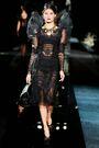 Dolce & Gabbana Fall 2009 RTW Longsleeve Tulle Dress