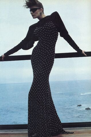 File:Norma Kamali - 1983 long studded dress.jpg