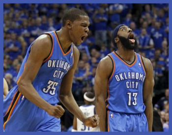 Kevin-durant-and-james-harden-teammates-again-in-houston