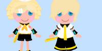 Rin and Len Kagami