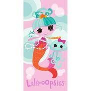 Lala-oopsies towel