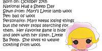 Mary Ba Peep
