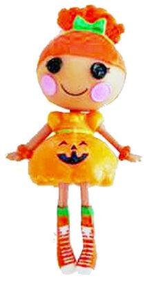 Pumpkin Candle Light doll - mini